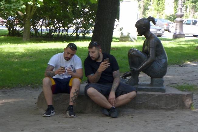 Люди и смартфоны - 2