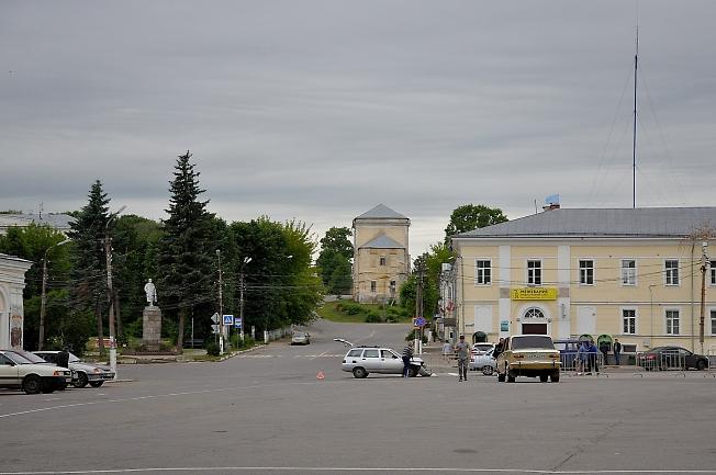 На улицах Торжка