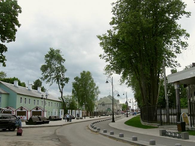 Обновлённая улица Сергиевская.