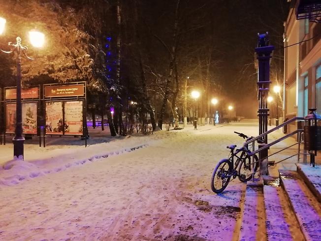 Зима наргянула внезапно