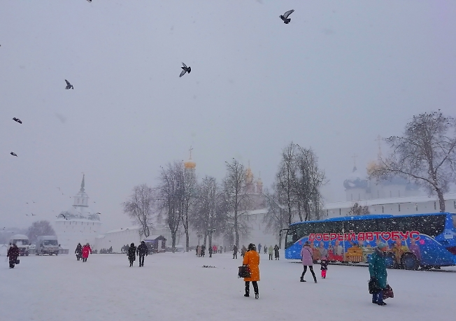 На Красногорской площади