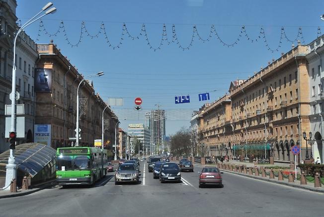 На улицах Минска 2