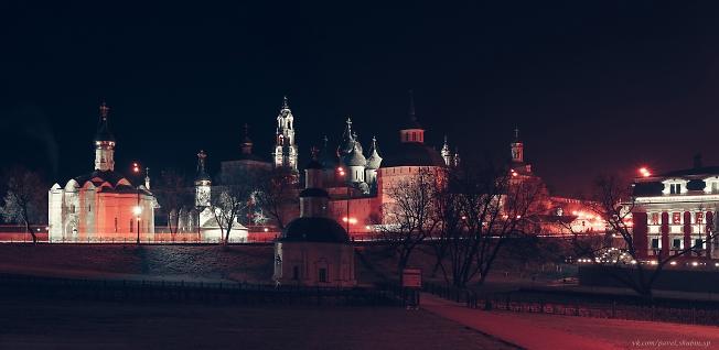 Свято-Троице Сергиева лавра в вечернее время | Holy-Trinity Sergius Lavra in the evening