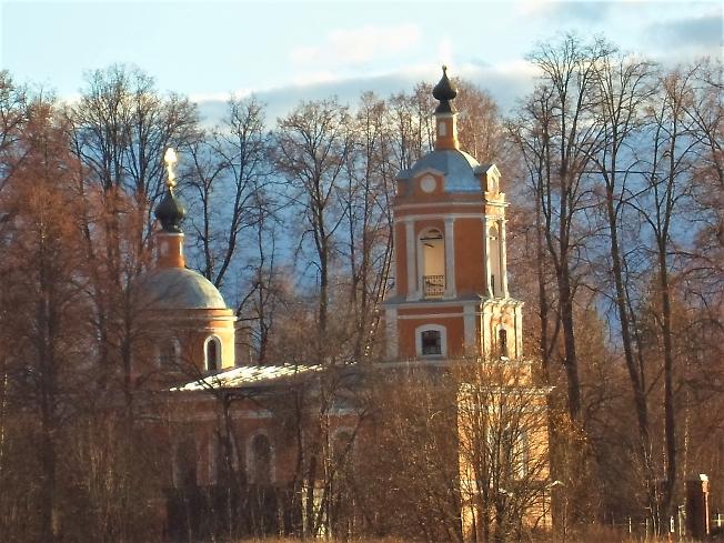 Храм Нерукотворного Образа Спаса в с. Спасс-Торбеево