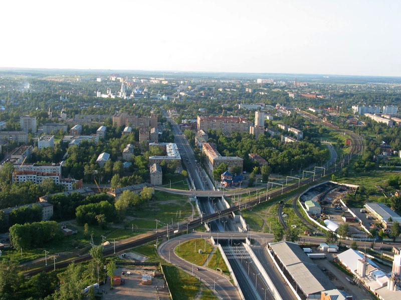 ...проектом Московской области - модернизацией и реконструкцией системы канализационных сетей в городе Сергиев Посад.