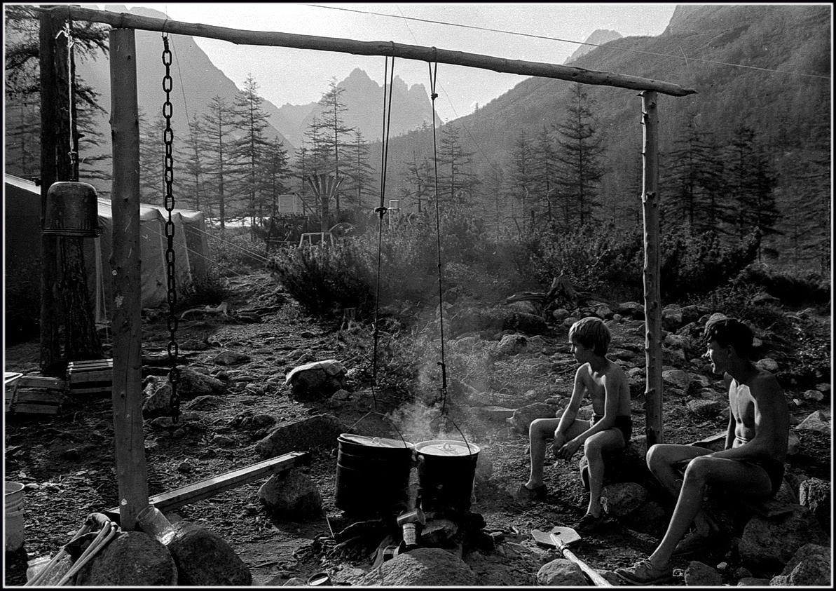 проведение знакомства в лагере